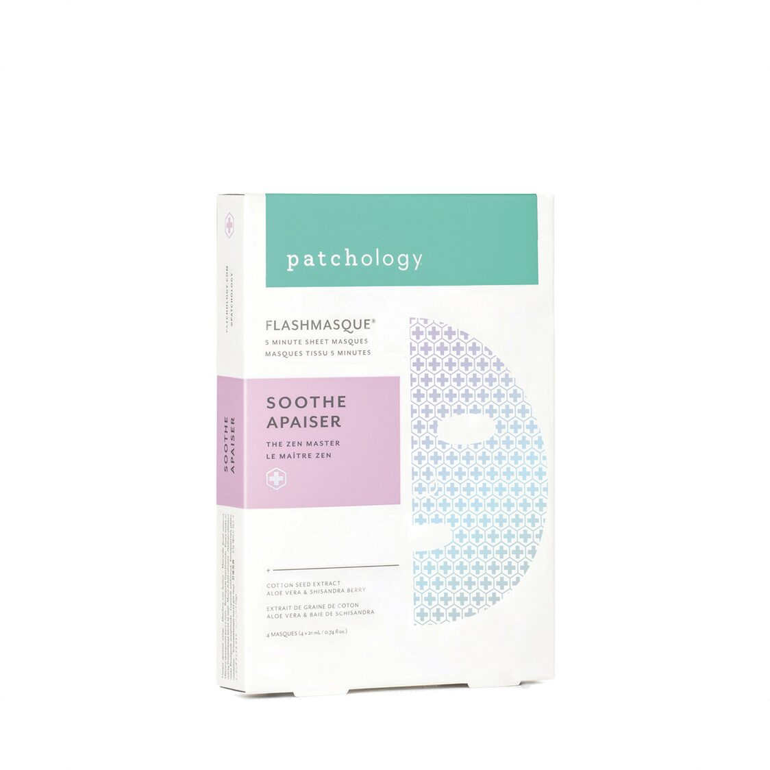 Flashmasque Soothe- 4-Pack