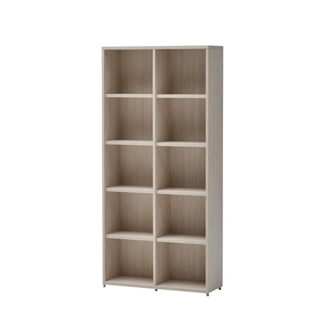 Roy 800W 5 Level Bookshelf OS Olmless Ruster