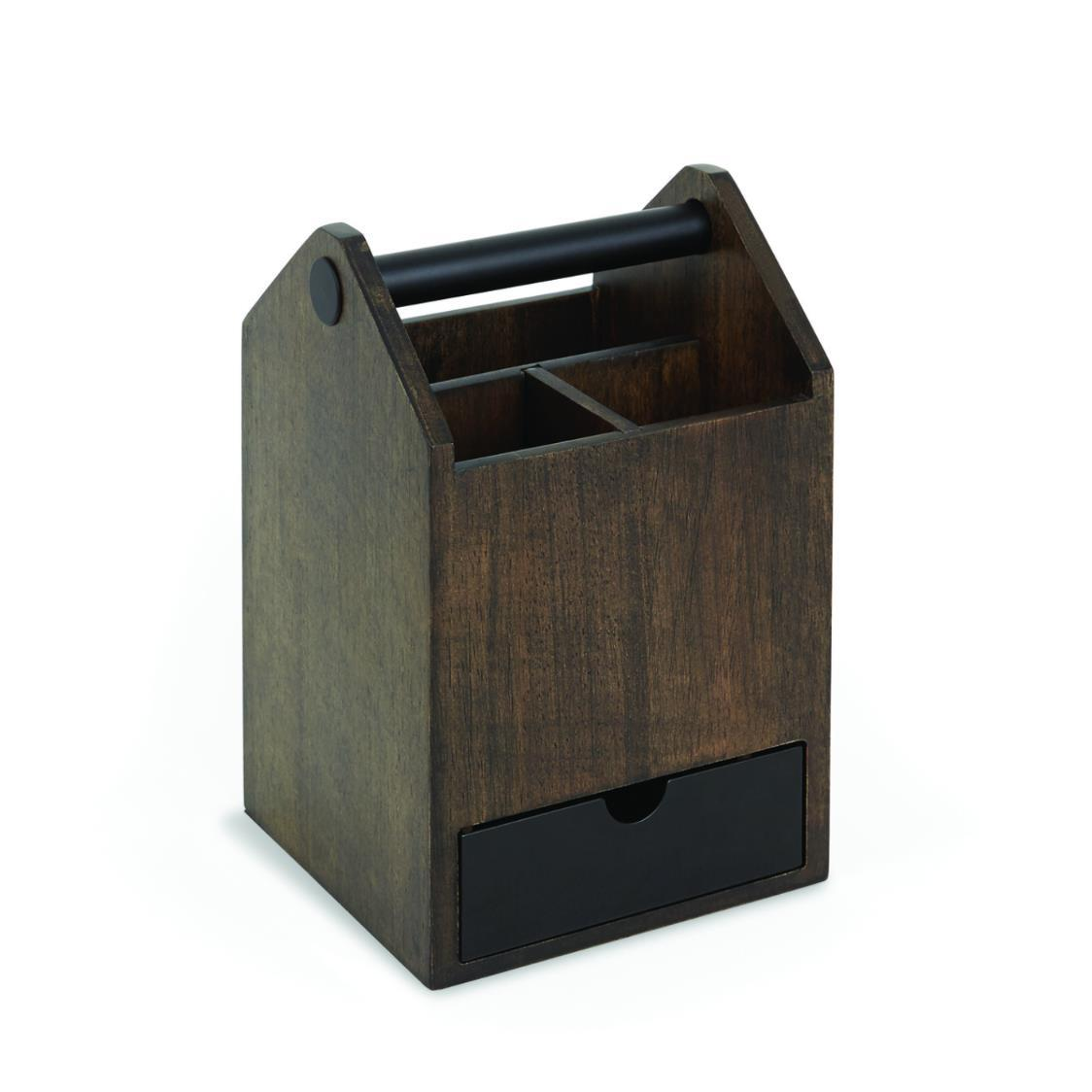 Toto Box Walnut Black