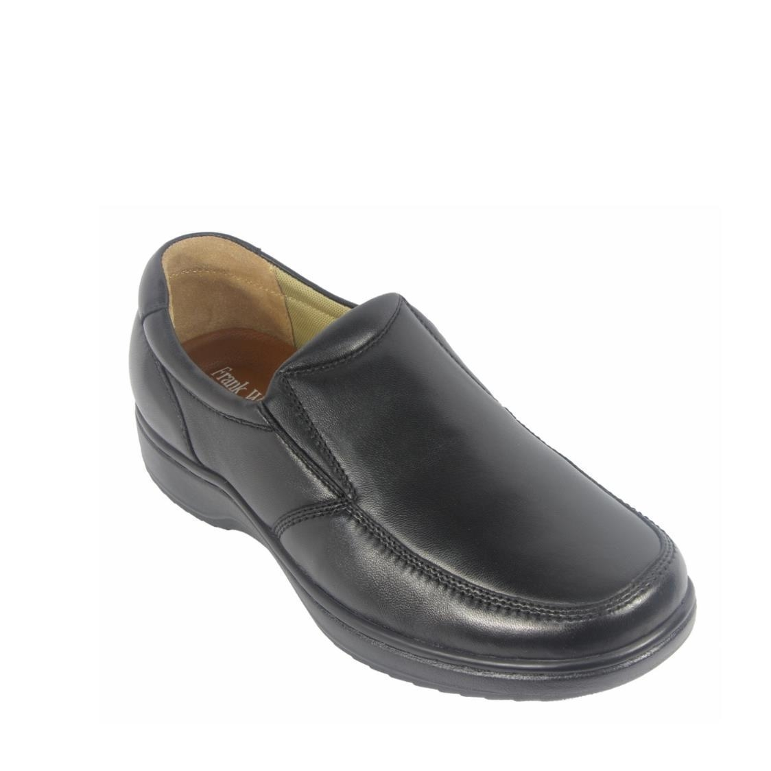 Men Casual Slip-Ons in Black