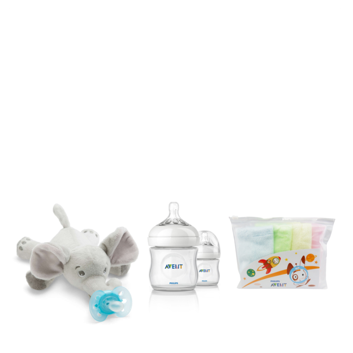 Philips Avent Elephant Plush Toy With Soother