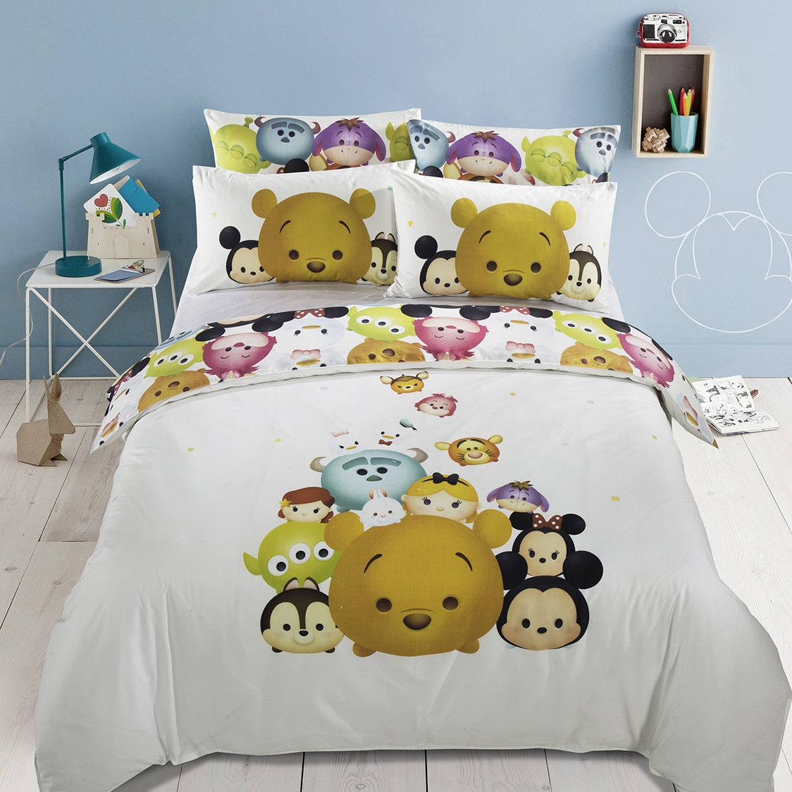 Tsum Tselfie A Fitted Sheet Set