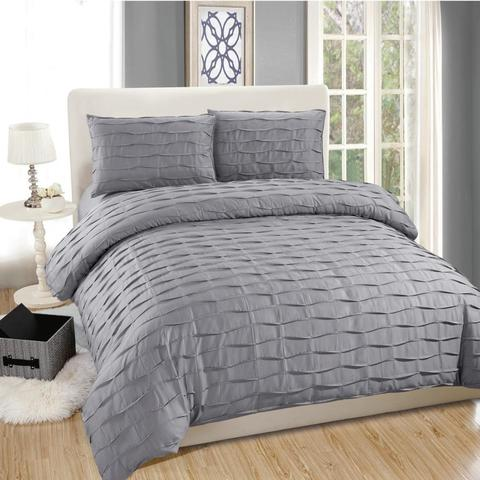High Quality Quilted Design Bed Set