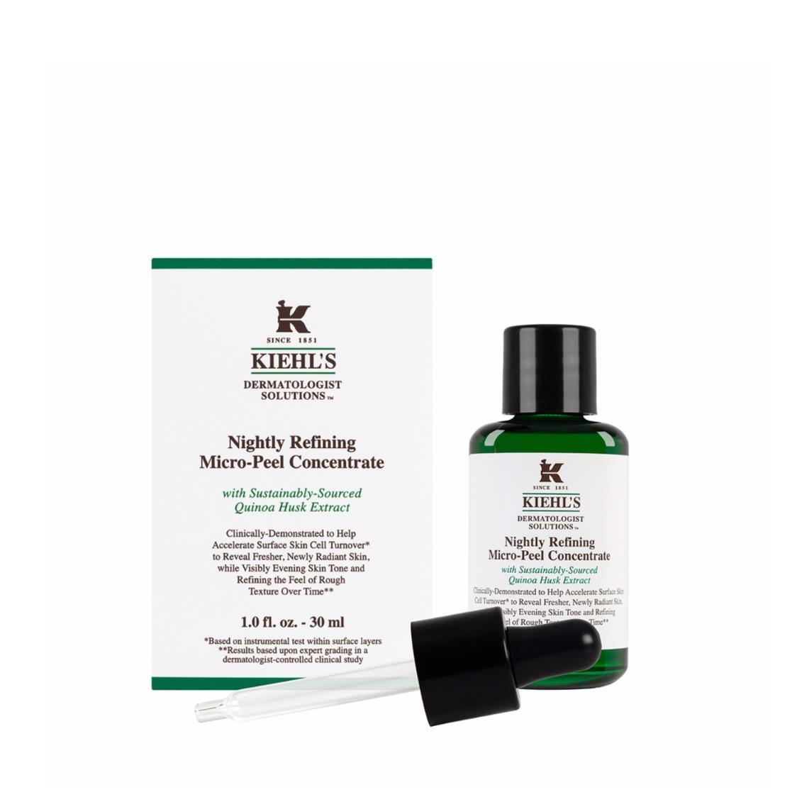 Kiehls Since 1851 Dermatologist Solutions Nightly Refining Micro-Peel Concentrate 30ml