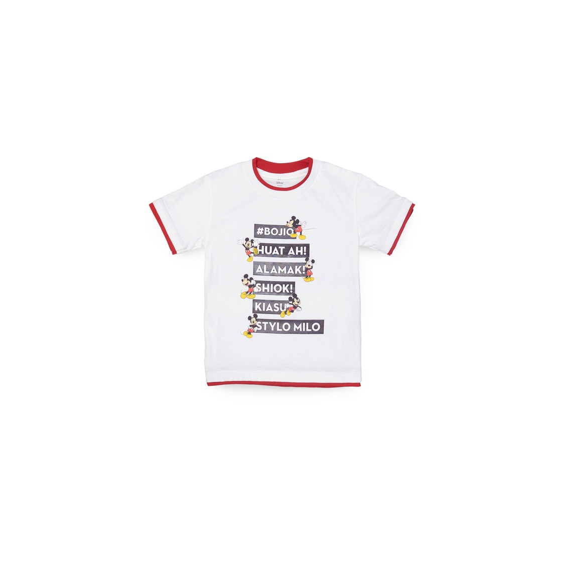 Mickey Singlish T-Shirt- Kids