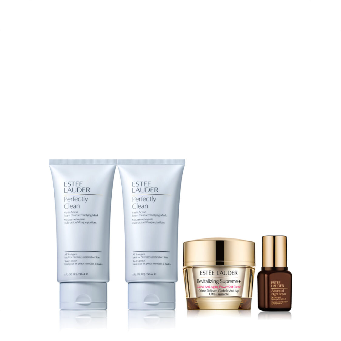 Estee Lauder Perfectly Clean Foaming Cleanser Set worth 164