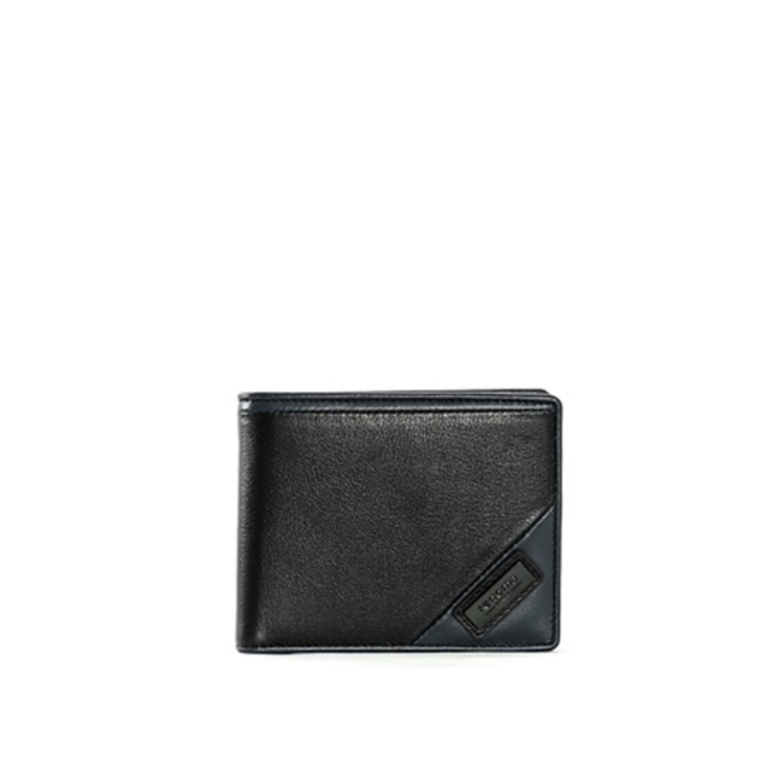 Renoma Stylus Centre Flap Cards Wallet Black