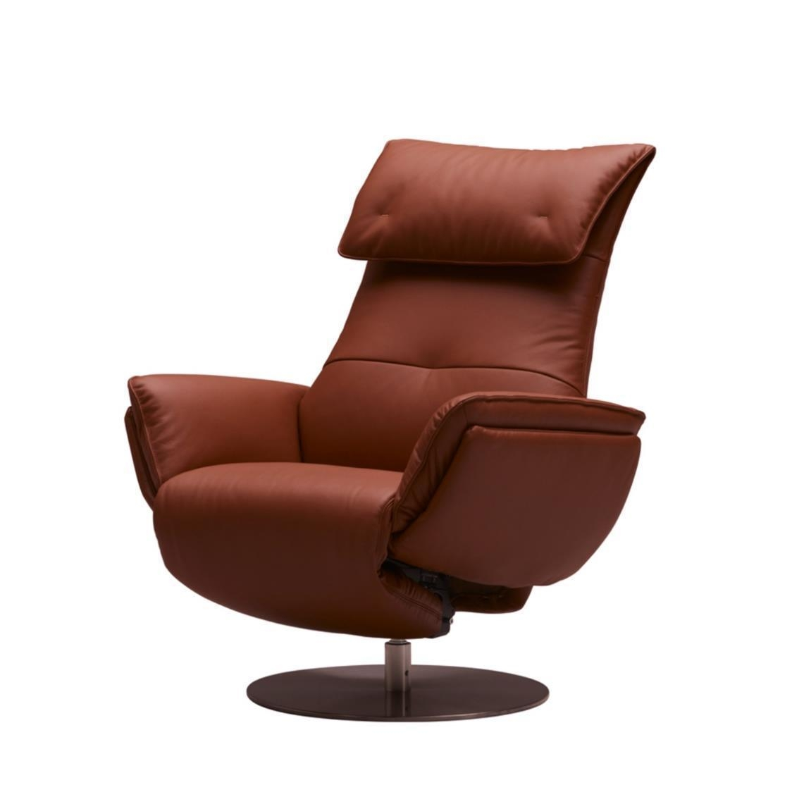 Wolke Chair - Full Leather L663A Terra Cotta