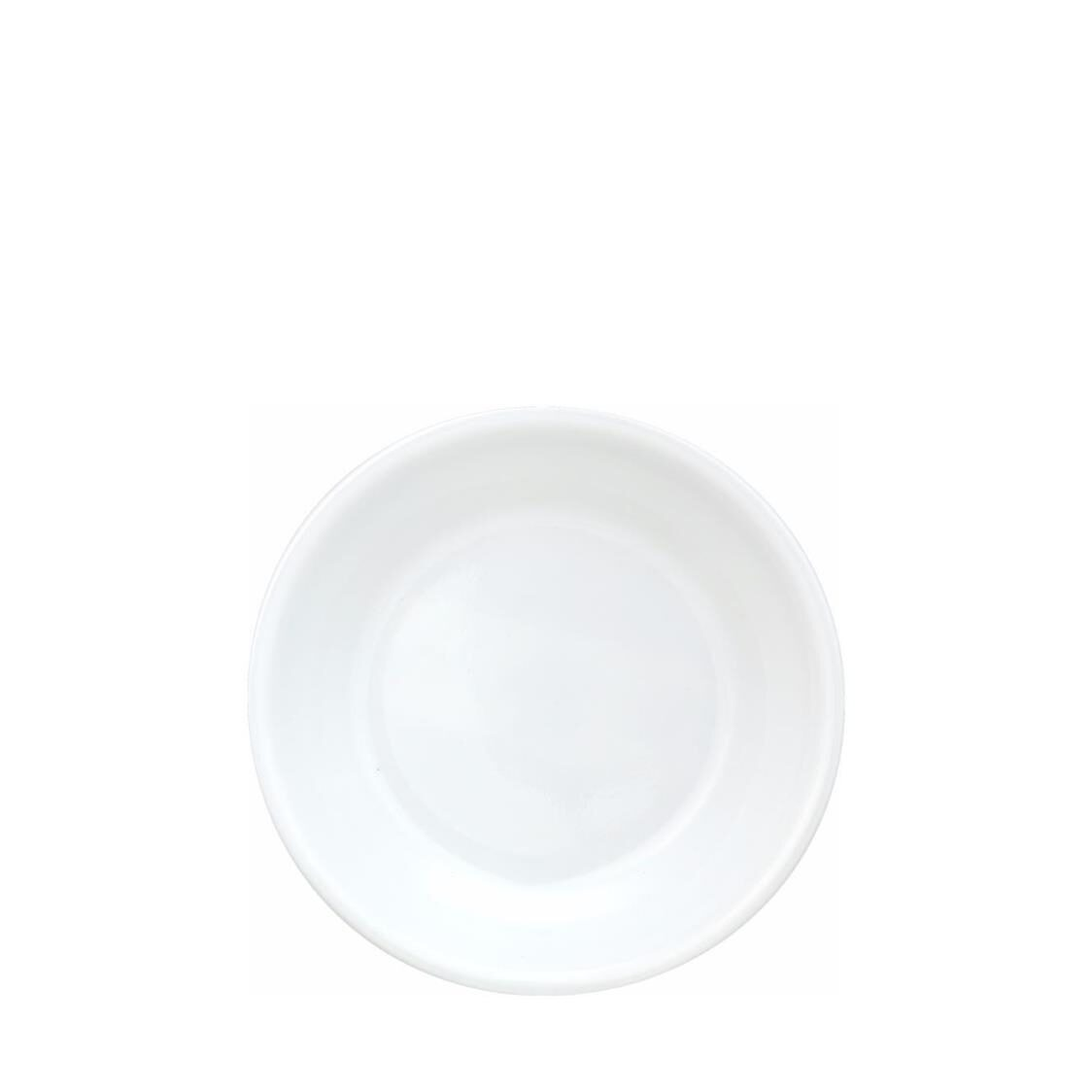 Sauce Plate Winter Frost White