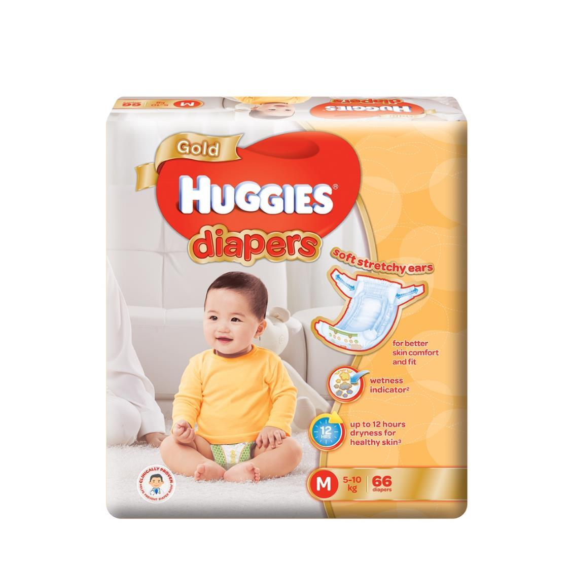 Huggies Gold M 66s