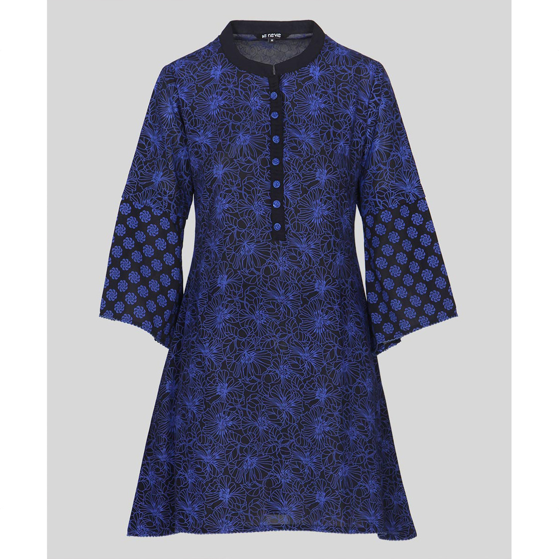 Navy Blue A-Line Tunic