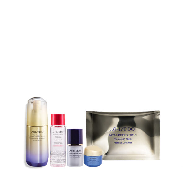 Shiseido Vital Perfection Uplifting and Firming Day Emulsion Set worth 272