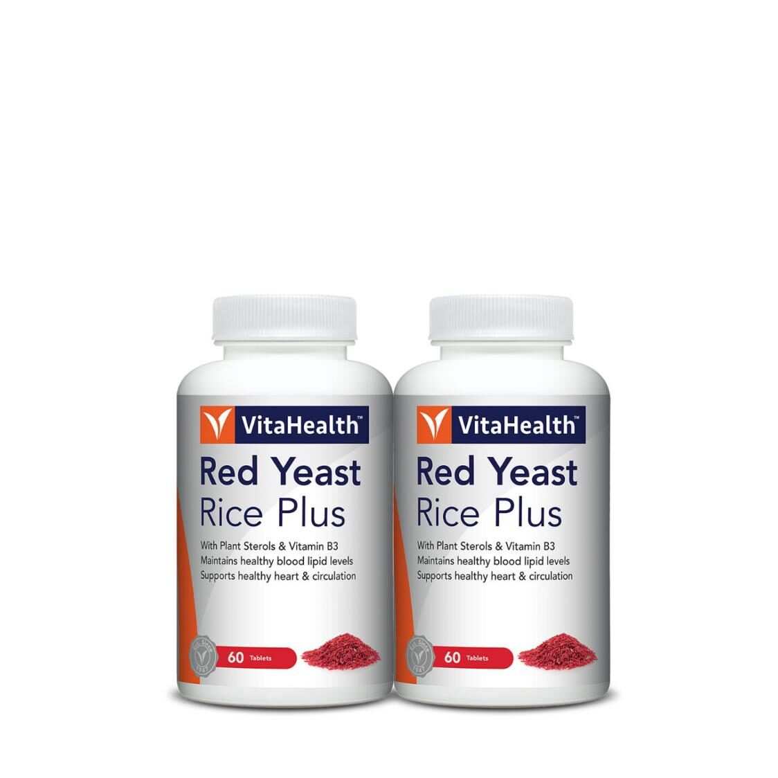 VitaHealth Red Yeast Rice Plus 60 Tablets