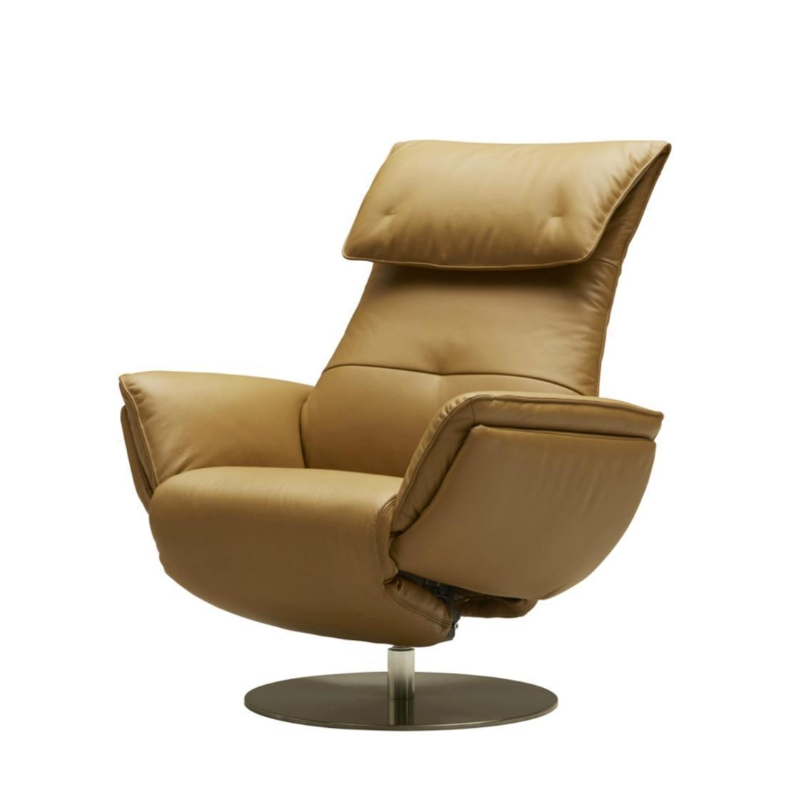 Wolke Chair - Full Leather L668 Mustard