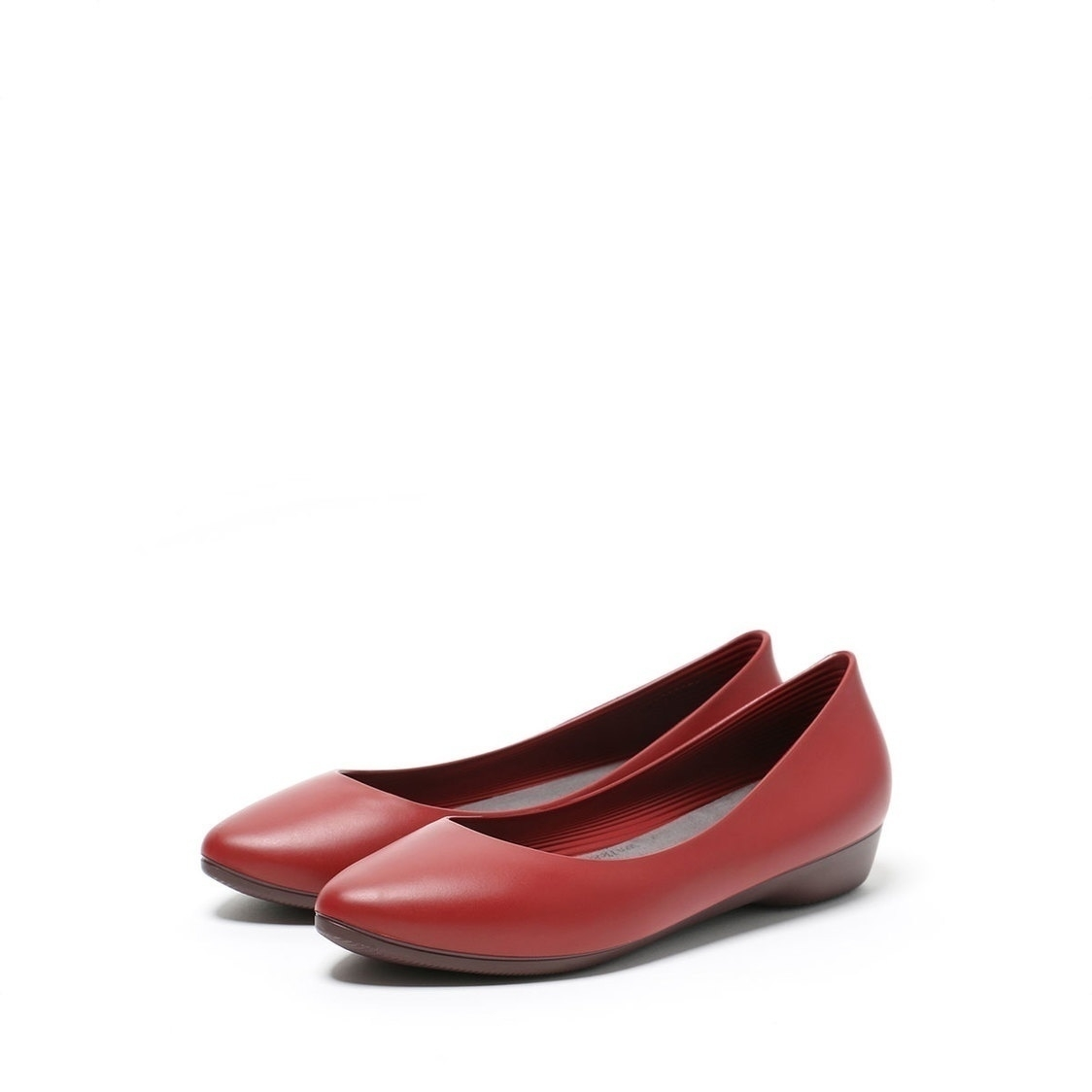 F3 Flat-Pointed Heel height 3cm Denim Red