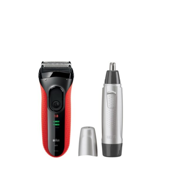BRAUN PERSONAL CARE Series 3 Shaver S3 3030VS (Free Ear & Nose Trimmer worth $29)