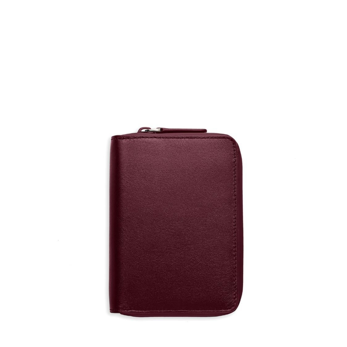 Ine Wallet - Burgundy Leather