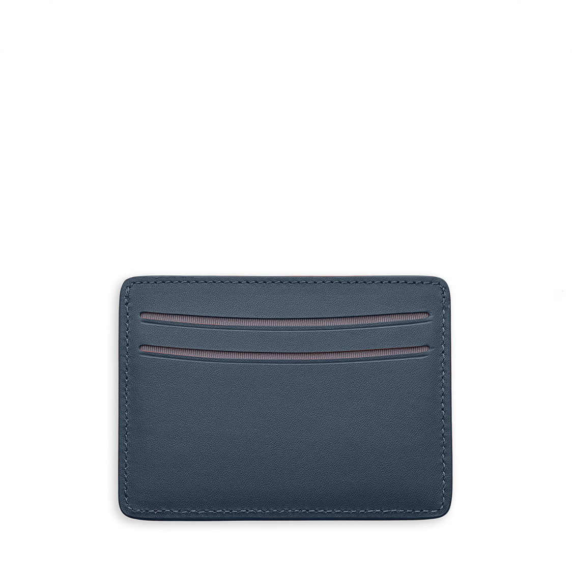 Kas Wallet - Navy Leather