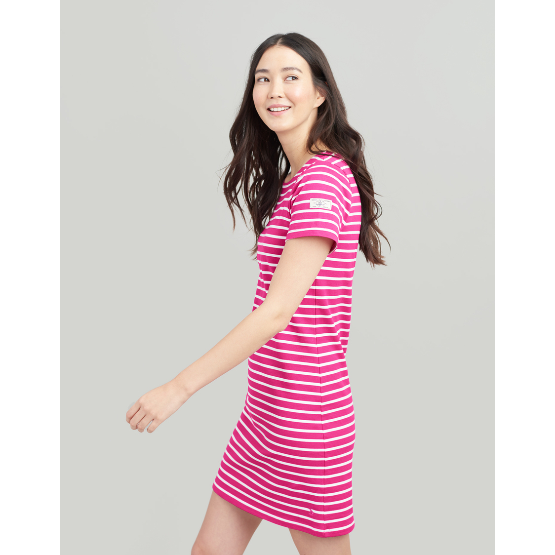 Riviera Dress With Short Sleeves