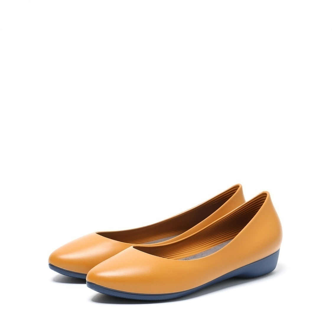 F3 Flat-Pointed Heel height 3cm Mustard Yellow